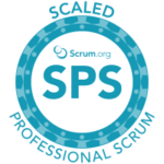 Scaled Professional ScrumTM(SPS) logo